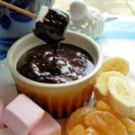 The Secret Recipe Club: A Sweet Treat with Chocolate Fondue and Fresh Fruit Dippers