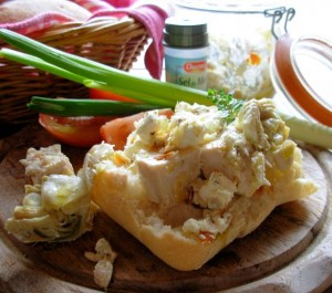 Poulet Nomade ~ Nomad's Chicken (Herb Poached Chicken in a Jar)