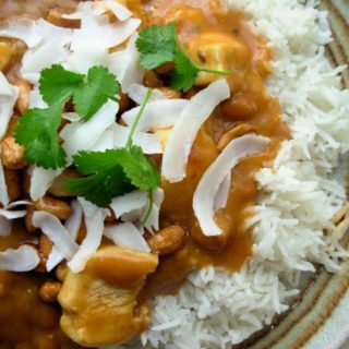 The Secret Recipe Club: Without Adornment – Slow Cooker Coconut Chicken Curry