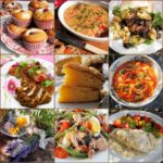 Lavender and Lovage Sunday Patchwork Quilt of Recipes and Photos with 5:2 Fast Day Recipes