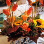 Abergavenny to London via Jerusalem with Pop-Up Kitchens and Autumn Flowers