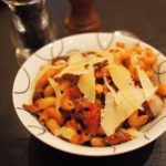 Italian Sausage Pasta Bowl with Grana Padano Cheese (5:2 Diet)