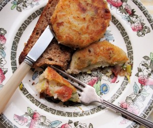 Bacon and Potato Cakes