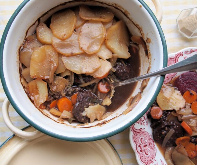 WW2 Black Pudding Hot-Pot