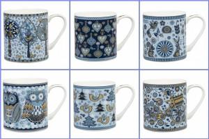 Blue Story Churchill Mugs
