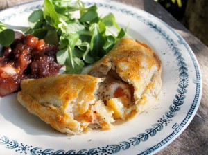 Cheese and Vegetable Pasties