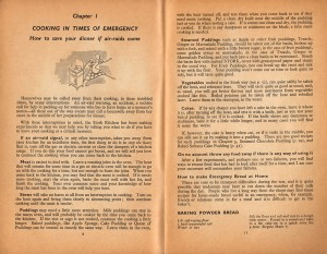 The Stork Wartime Cookery Book