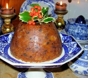 Traditional Victorian Christmas Pudding