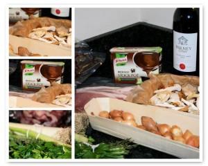 Boeuf Bourguignon with Wild Mushrooms