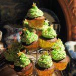 Spiced Chocolate Christmas Tree Cakes