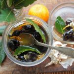 Spanish Olives ~ Olé! A Duet of Tuneful Olive Marinades with Lemons, Oranges, Herbs & Ginger