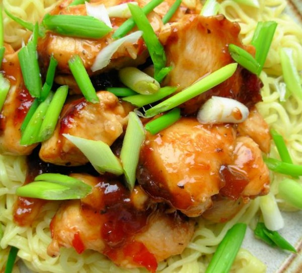 Easy 52 fast day recipe chinese garlicginger honey chicken with chinese garlicginger honey chicken 52 print recipe forumfinder Choice Image