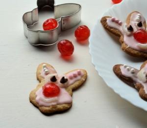 Red Nose Bunnies (Biscuits/Cookies)