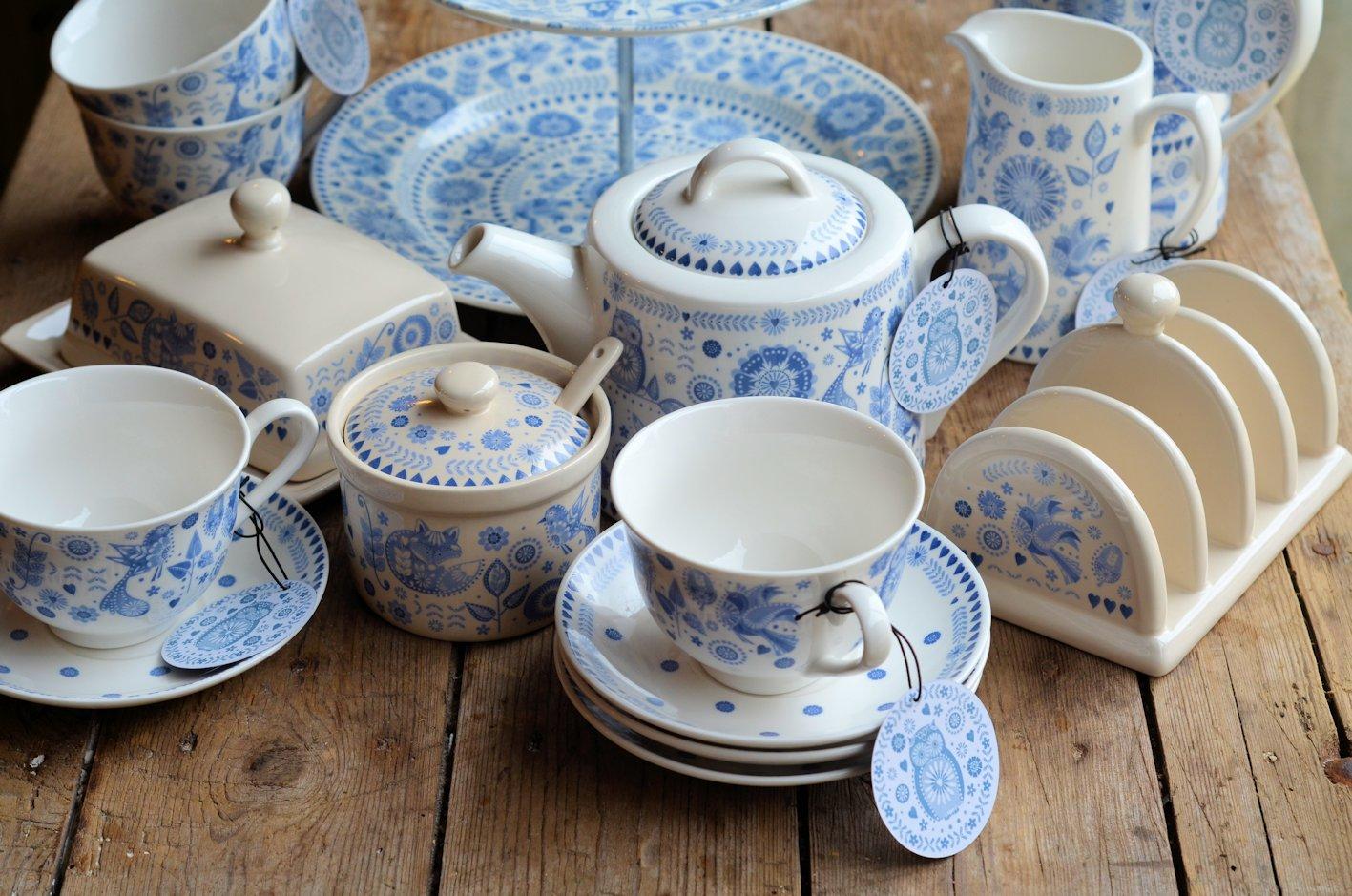 Churchill China - Penzance & Mothering Sunday and Blue \u0026 White China: Little Victoria Lemon ...