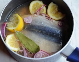 Hot Pickled Herrings