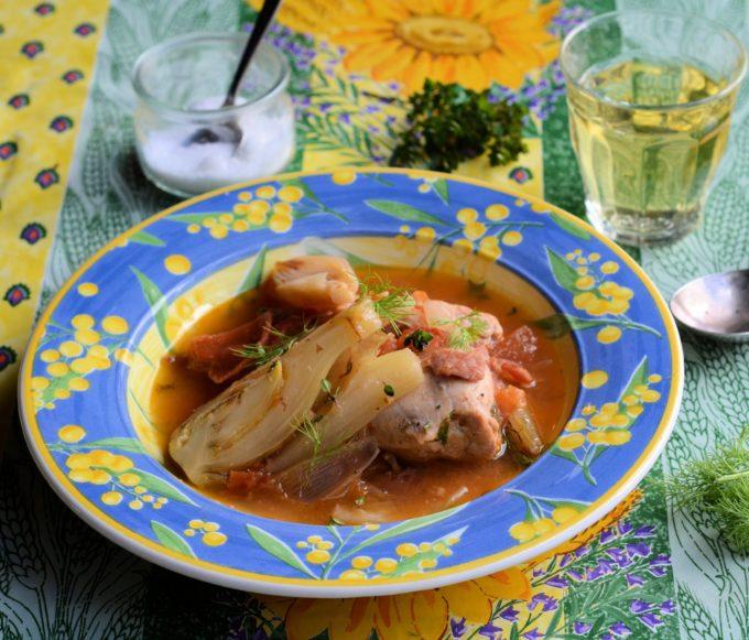 Provençal Chicken and Fennel Braise