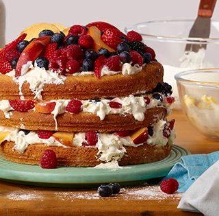 World Baking Day……Cakes Galore and my Vanilla, Strawberry & Rose Victoria Sandwich Cake