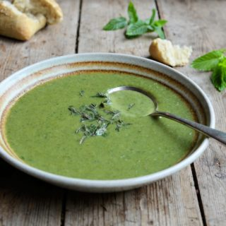 "Green Goddess ""50 Calorie"" Soup Recipe – A Green Smoothie in a Soup Bowl!"
