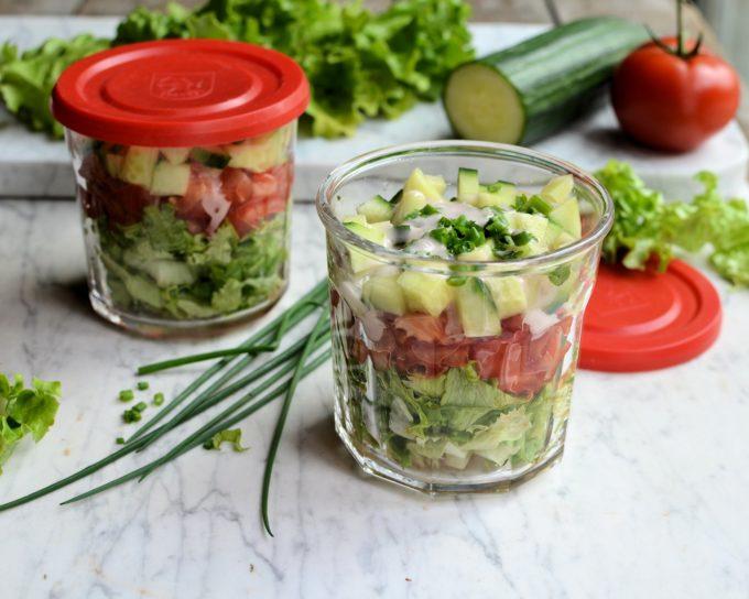 Summer Salad in a Jar