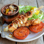 BBQ Spices that Sing! Lemon and Sweet Pepper Chicken Kebabs Recipe