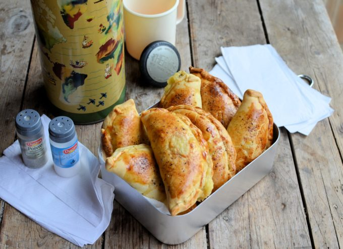 Cheese, Onion and Potato Pasties