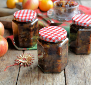 Traditional Boozy Mincemeat with Apples