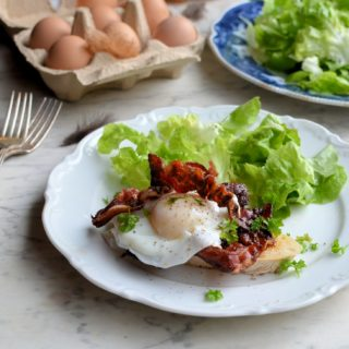 Sous Vide Poached Eggs: Posh Bacon & Eggs, Smoked Haddock & Eggs and Basic Poached Eggs