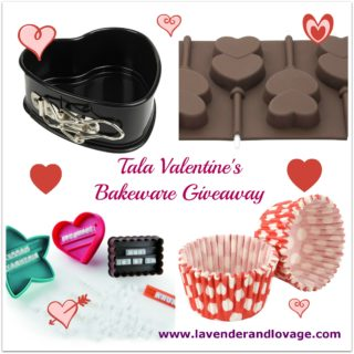 Giveaway: Win some FAB Tala Bakeware for Valentine's Day Cakes and Bakes!