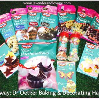 Giveaway: Win a FABULOUS Dr Oetker Baking & Decorating Hamper