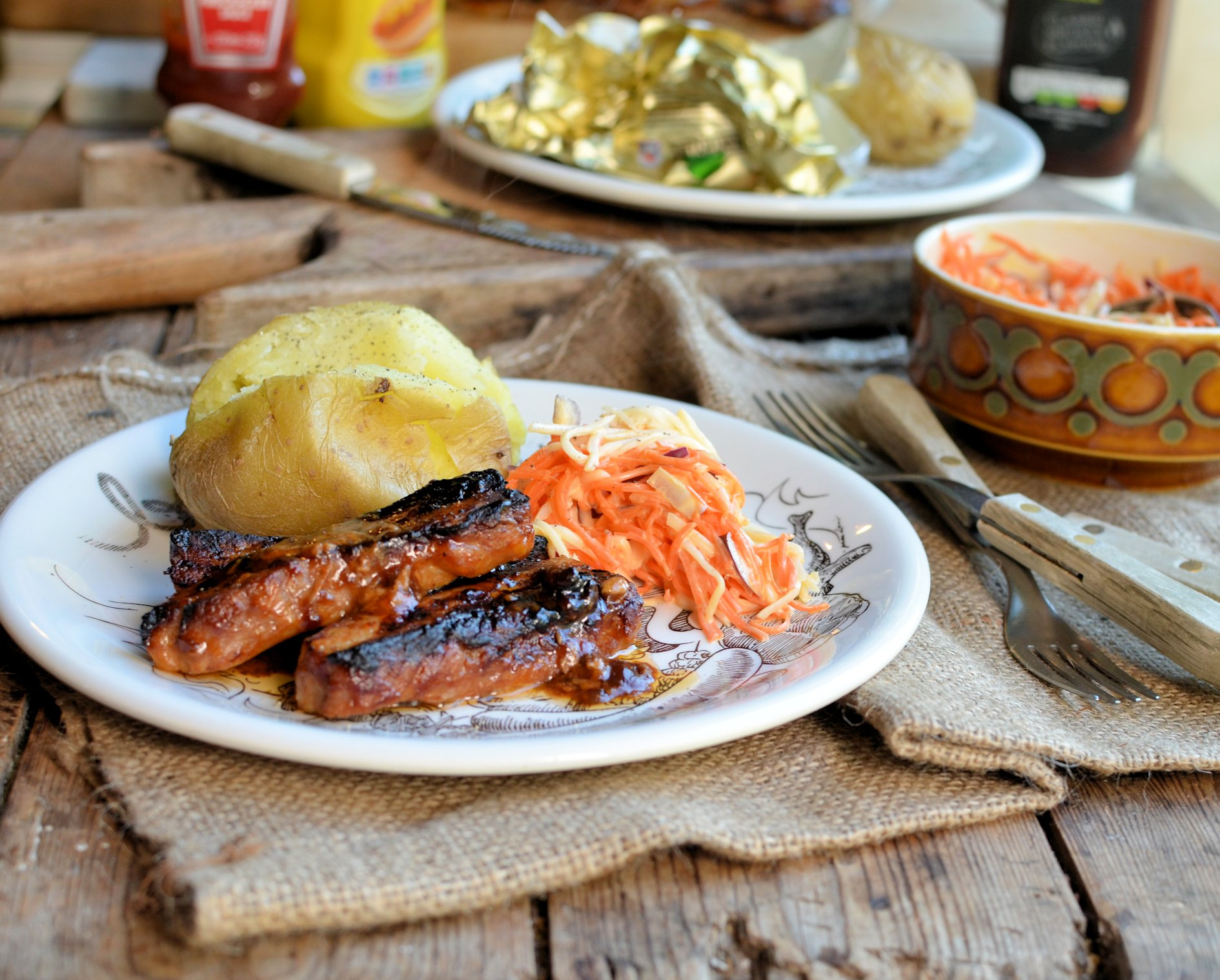 The red tractor hamper challenge oven baked bbq pork belly slices - Make lamb barbecue ...