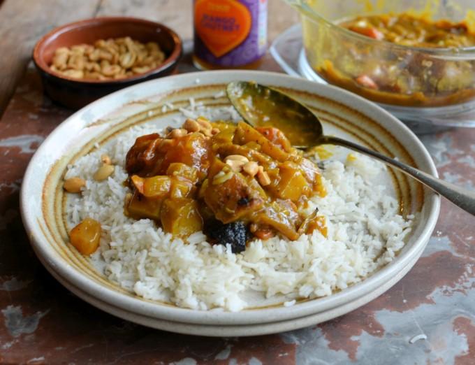 Roast Root Vegetable Curry