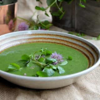 Better with Brita: Watercress Soup with Chives (5:2 Diet)