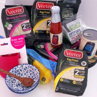 Giveaway: Win a FABULOUS Veetee Egg Fried Rice & Wholegrain Rice Hamper!