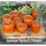 August Cooking with Herbs: Summer Herbs & Flowers