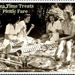 August Tea Time Treats: Pack up a Picnic! Picnic Food & Picnic Treats