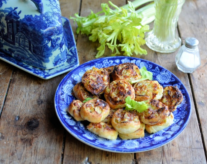 Cheese and Celery Pinwheels