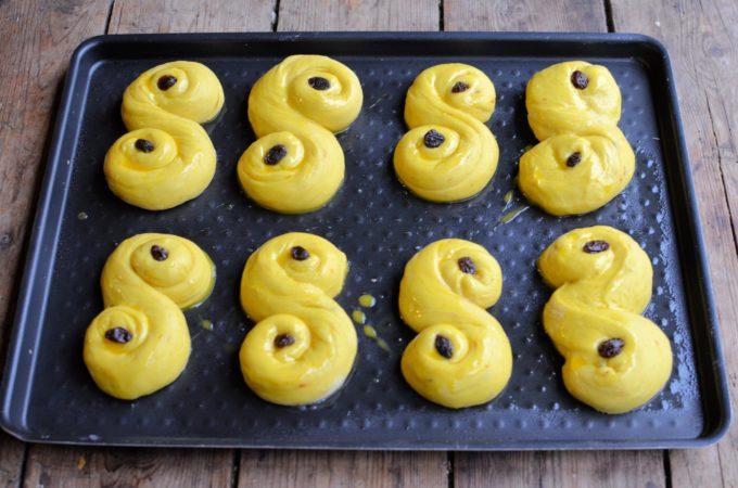 St Lucia Saffron Buns (