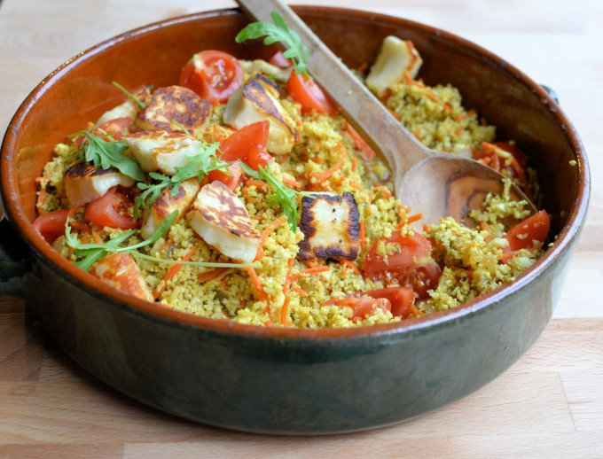 Spiced Moroccan Cauliflower Couscous – Tabbouleh