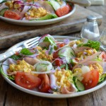 Mexican Egg Salad Lettuce Wraps