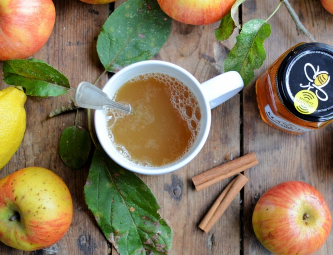 A delicious winter beverage that is packed with vitamins ...