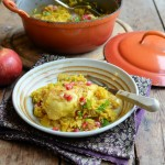 Baked Lemon Chicken with Saffron PLUS Giveaway