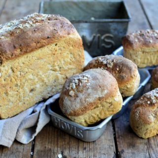 "Gold Hill and ""Hovis"" Granary Bread Loaf"