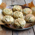 Beremeal Parsley Scones with Seaweed Salt & Black Pepper