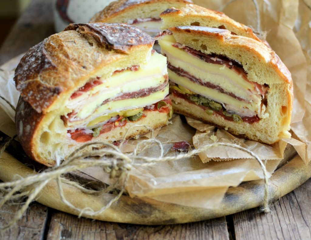 The New Orleans Muffuletta Sandwich - Lavender and Lovage