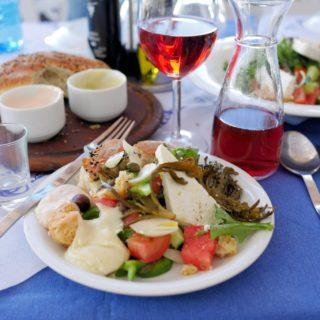 Fabulous Greek Food on the Island of Astypalea
