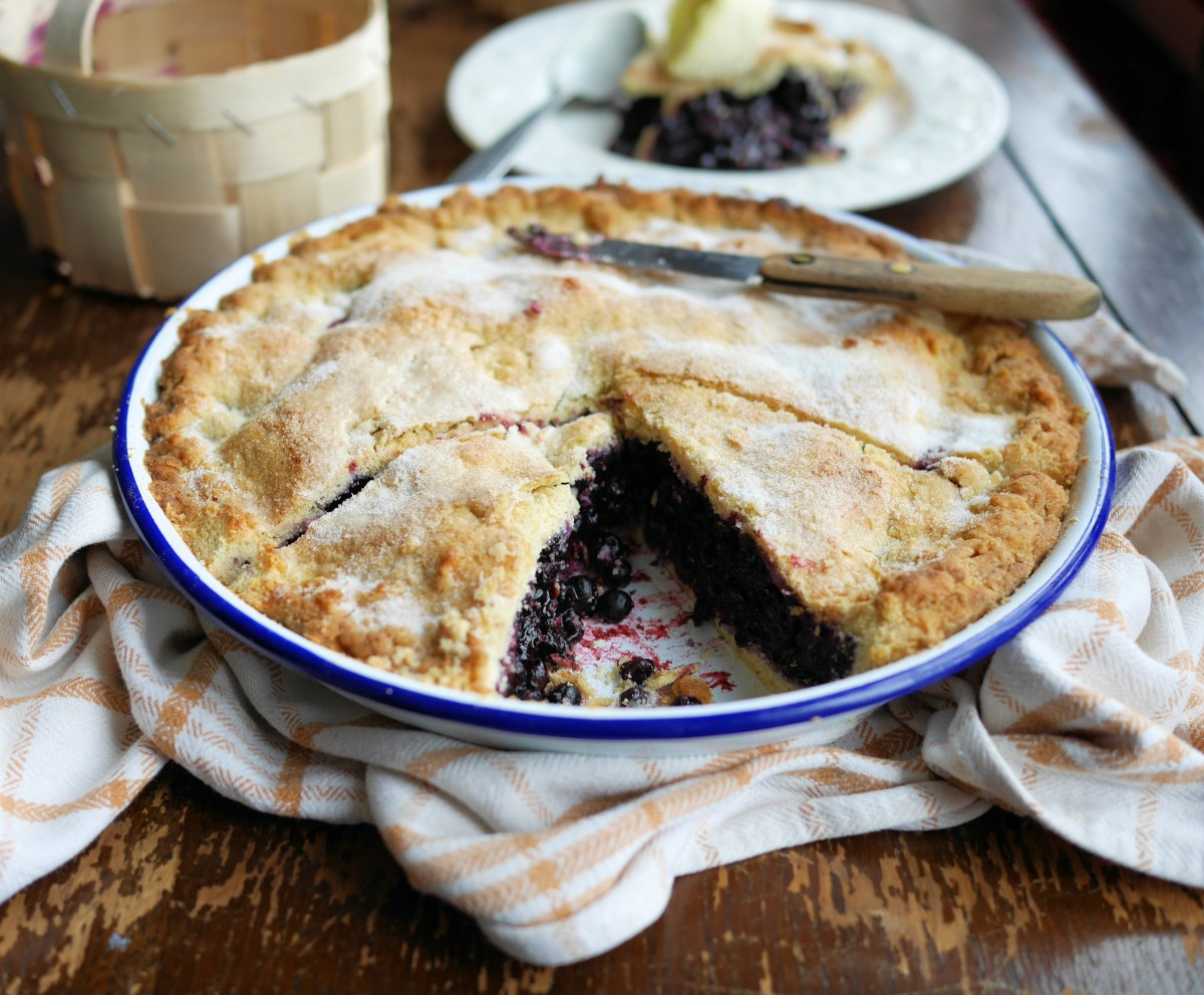& Mum\u0027s Bilberry Plate Pie and Clotted Cream - Lavender and Lovage