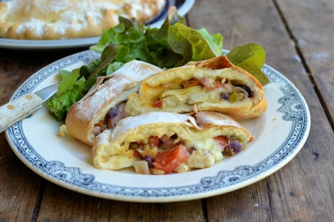 Italian Calzone – Stuffed Pizza Pasties