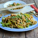 Sesame & Cashew Noodles for Meat Free Monday