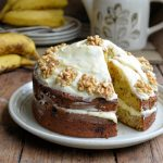 Going Bananas: Banana Bread Cake with Buttercream