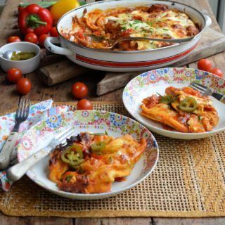 The Lactofree Challenge and Pork & Pepper Enchiladas